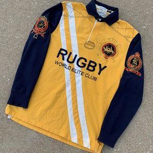 Ralph Lauren Vintage Match Rugby Elite Club Size L